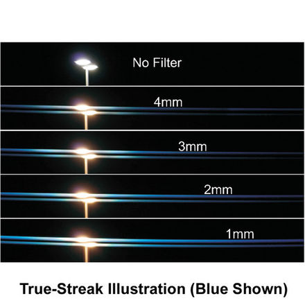 4x5 Schneider True-Streak Blue 1mm, 2mm, 3mm, & 4mm