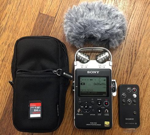 Sony PCM-D100 Portable Audio Recorder
