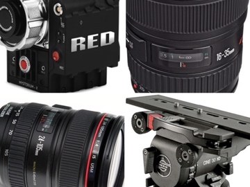 Rent: RED Epic X + Cine 30 Tripod + PL or EF with Lenses