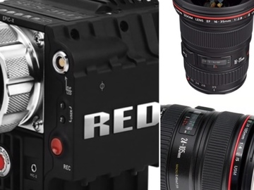 Rent: RED Epic X Package PL Mount or EF with Lenses