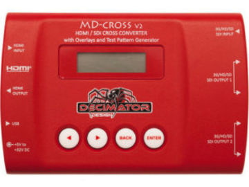 Rent: Decimator MD-Cross V2 Miniature HDMI/SDI Cross Converter