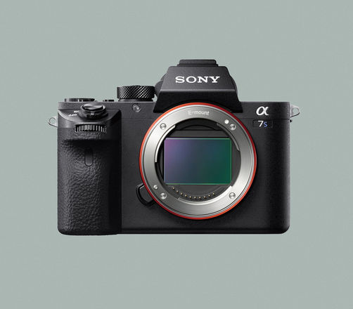 Sony a7s II body w/ Metabones adapter for Canon EF lenses