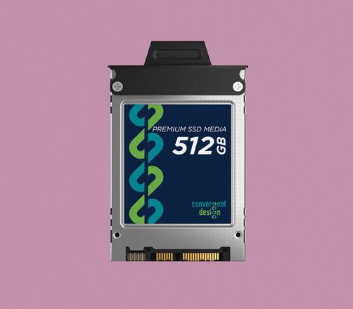 Convergent Design 512GB SSD for Odyssey 7, 7Q, 7Q+ & Apollo
