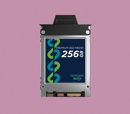 Convergent Design 256GB SSD for Odyssey 7, 7Q, 7Q+ & Apollo
