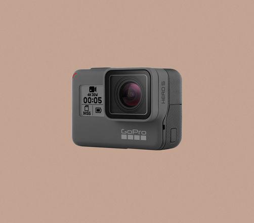 GoPro HERO5 Black Ultra HD Action Camera ‑ 4K