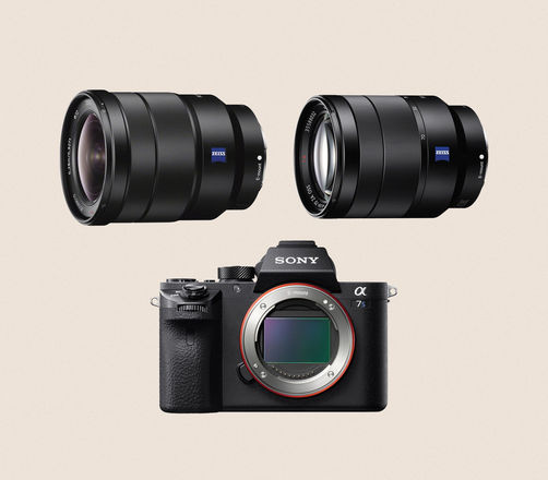 Sony a7s II w/ 16-35 and 24-70 Lens Kit