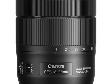 Rent: Canon 18-135mm