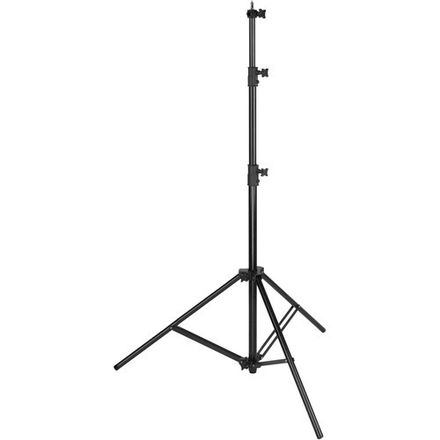 Impact Air-Cushioned Heavy Duty Light Stand (Black, 9.6′)