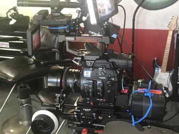 Canon C300 Mark II, w/ 24-105mm Lens, Tripod, Wireless,