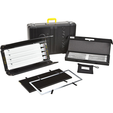 2 - Kino Flo Diva-Lite 415 Universal Kit with Travel Case