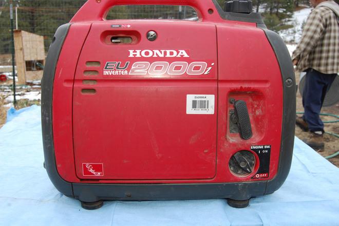 Honda Super Quiet 2000 Generator