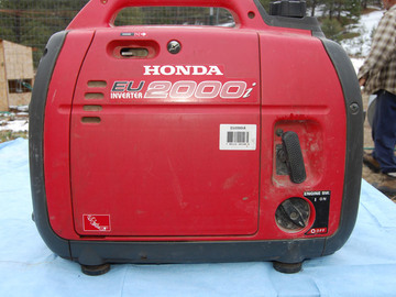 Rent: Honda Super Quiet 2000 Generator