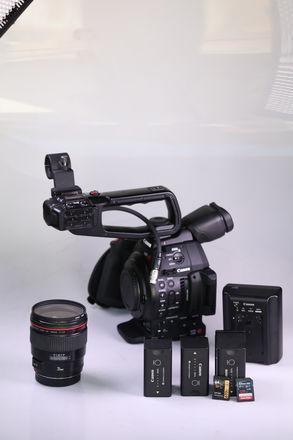 Canon EOS C100 Mark II W/ 35mm 1.4