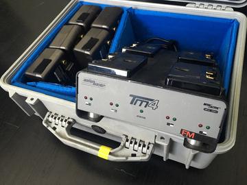 Rent: 6 Anton Bauer HCX Dionic 14v batteries w/quad charger.