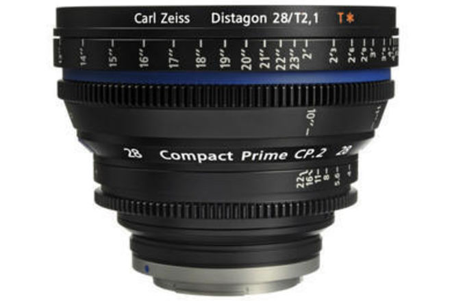 Zeiss Compact Prime CP.2 28mm T2.1 (Canon EF Mount)
