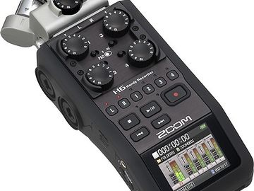 Zoom H6 Handy Recorder Interchanging Microphone Syst
