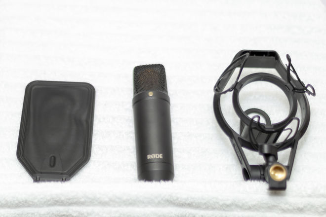 Rode NT1 Large Diaphragm Condenser Microphone