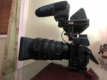 Rent: SONY A7III CINEMA KIT + 256GB MEDIA | LED LIGHT | MIC | CASE