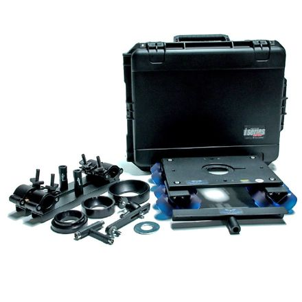 Dana Dolly with Universal Track Ends With Stands+Poles +Case