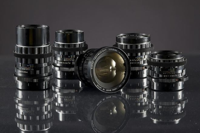 Pentax  Medium Format Super Takumar Lens Set 1969 - Set of 5