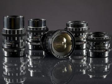 Rent: Vintage 1969 Pentax 6x7 Super Takumar Medium Format Lens Set