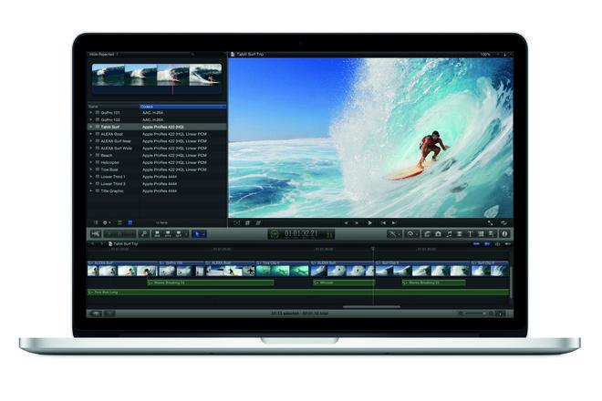 "2013 Apple MacBook Pro 15"" i7 w/ FCP 7/X, Adobe, SSD (D)"