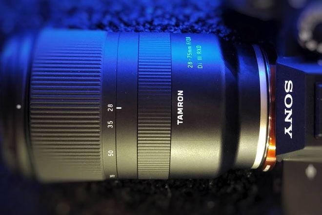 Tamron 28-75 F2.8 Di III RXD for Sony e-mount