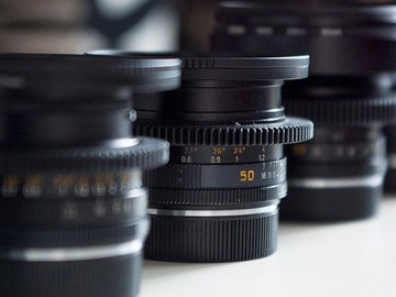 Rent: Leica R's Set of 6 Primes