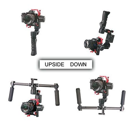 CAME-TV OPTIMUS 3 Axis Gimbal with Single & Dual Handle