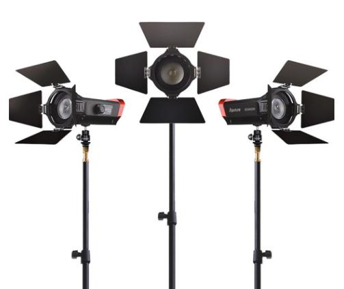 Aputure LS-mini 20 three light kit