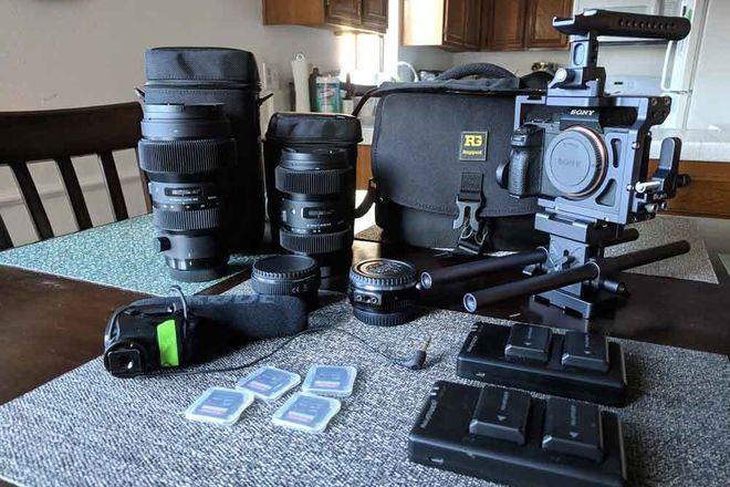 Sony A7R2 Cine Kit + Sigma 18-35mm + Sigma 50-100mm