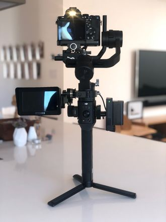 Ronin S with Monitoring, Mount and Monopod