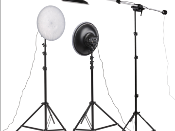 Generay 3 Light Kit (with impact stands)