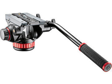 Rent: Manfrotto MT055CXPRO4 Carbon Fiber Tripod with 502HD Ball Ba