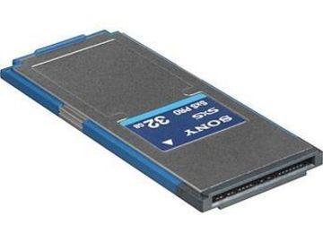 Rent: Sony EX SxS 32GB Storage Card
