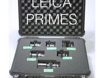Six LEICA-R set - 19-180mm f/1.4-2.8 - Canon EF Mount