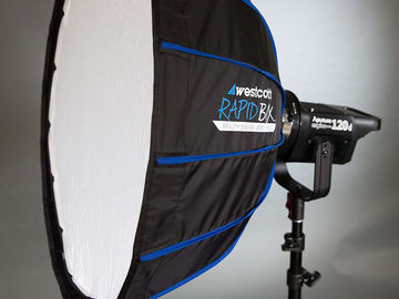 "Rent: Collapsible Beauty Dish  (24"", Bowens Mount)"
