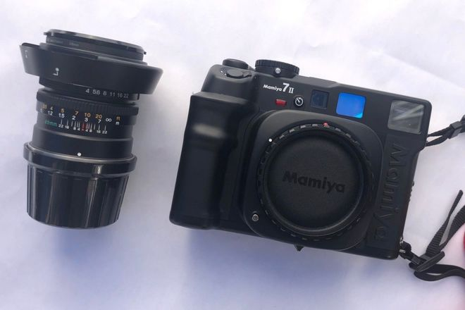 Mamiya 7ii w/ 65mm f/4 Lens
