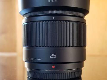 Panasonic 25mm / f1.7