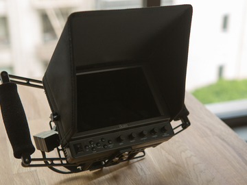 """Rent: Ikan 7"""" monitor with Wooden Camera Director's Monitor Cage"""