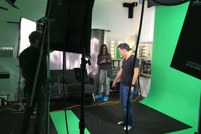 Fully Equipped Production Studio with Lighting, Backdrops,