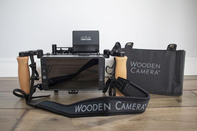 SmallHD 702 Bright  Monitor w/ Wooden Camera v2 Director's