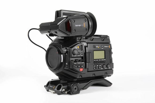 URSA Mini Pro 4.6K w/ EVF, V-mount, media, w/batts,  etc