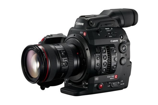 Canon C300 Mark II, w/ 24-70mm Lens, Tripod, Paralix