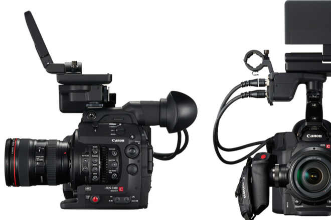 (2) Canon C300 Mark II, w/ (2) zooms, (2) primes INDIE A & B
