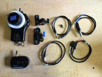 Rent: Redrock Micro Remote Follow Focus Kit ( Remote/Fingerwheel)