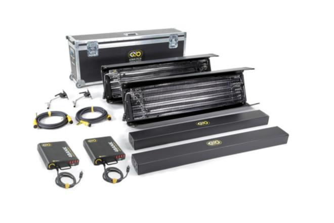 Kino Flo Gaffer Kit - (2x) 4-ft 4Bank + (2x) 2-ft 4Bank