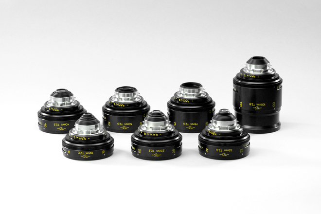 Cooke Speed Panchro Primes - Rehoused by TLS