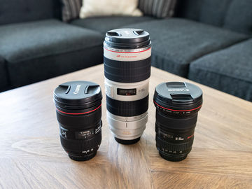 Canon EF Zoom L-Series Lens Package