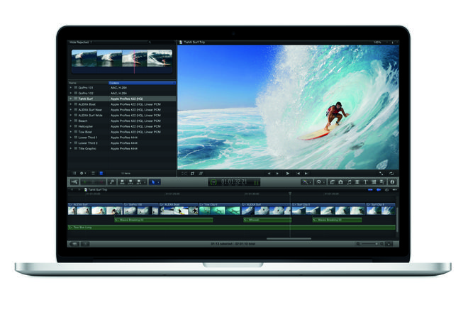 "2015 Apple MacBook Pro 15"" i7 w/ FCP X, Adobe, SSD (C)"